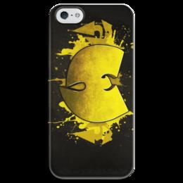 """Чехол для iPhone 5 глянцевый, с полной запечаткой """"Wu-tang"""" - wu-tang, ву тэнг, вутенг"""