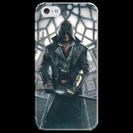 "Чехол для iPhone 5 глянцевый, с полной запечаткой ""Assassin's Creed syndicate"" - assassin's creed, кредо ассасина, syndicate, синдикат"