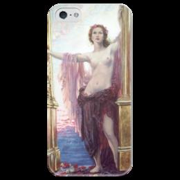 """Чехол для iPhone 5 глянцевый, с полной запечаткой """"Ворота Рассвета"""" - картина, дрейпер"""