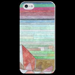 """Чехол для iPhone 5 глянцевый, с полной запечаткой """"Вид на плодородную страну"""" - картина, клее"""