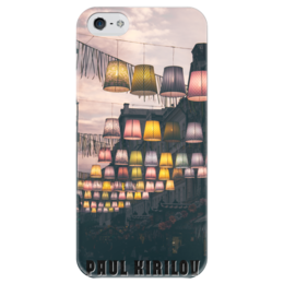 """Чехол для iPhone 5 глянцевый, с полной запечаткой """"Torches"""" - фото, эксклюзив"""