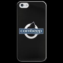 """Чехол для iPhone 5 глянцевый, с полной запечаткой """"Combeep"""" - авто, автомобили, combeep"""