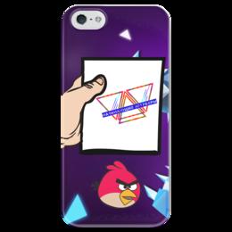 """Чехол для iPhone 5 глянцевый, с полной запечаткой """"Начинающие Ютуберы"""" - youtube, ютуб"""