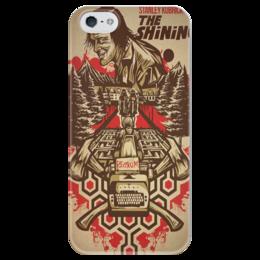 "Чехол для iPhone 5 глянцевый, с полной запечаткой ""The Shining"" - king, сияние, shining, кинг, stephenking"