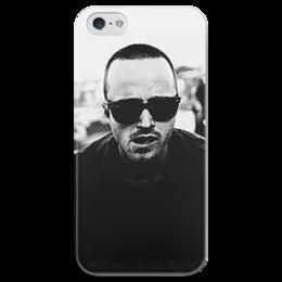 """Чехол для iPhone 5 глянцевый, с полной запечаткой """"Джесси Пинкман"""" - во все тяжкие, breaking bad, джесси пинкман, пинкман"""