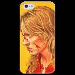 "Чехол для iPhone 5 глянцевый, с полной запечаткой ""kill bill"" - tarantino, ума турман, тарантино, kill bill, uma thurman, убить билла, из фильма убить билла"