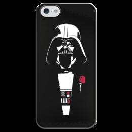 "Чехол для iPhone 5 глянцевый, с полной запечаткой ""My father"" - star wars, darth vader, father"
