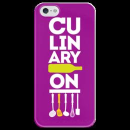 "Чехол для iPhone 5 глянцевый, с полной запечаткой ""CULINARYON "" - culinaryon, кулинарион"