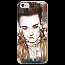 """Чехол для iPhone 5 глянцевый, с полной запечаткой """"Art Boy"""" - арт, парень, модно, стильно, секси, boy"""