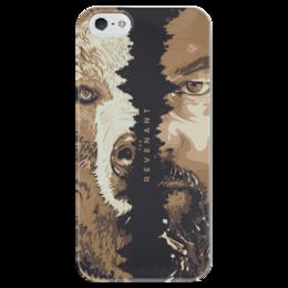 """Чехол для iPhone 5 глянцевый, с полной запечаткой """"The Revenant"""" - фильм, 2016, дикаприо, выживший, the revenant"""
