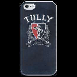 """Чехол для iPhone 5 глянцевый, с полной запечаткой """"Игра Престолов. Дом Талли"""" - игра престолов, game of thrones, дом талли, house tully, талли"""