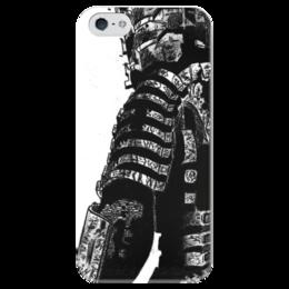 """Чехол для iPhone 5 глянцевый, с полной запечаткой """"Dead Space"""" - игровой, по играм, о играх, про игры, с играми"""