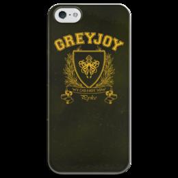 """Чехол для iPhone 5 глянцевый, с полной запечаткой """"Игра Престолов. Дом Грейджоев"""" - игра престолов, game of thrones, грейджои, house greyjoy, дом грейджоев"""