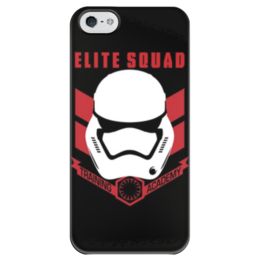 "Чехол для iPhone 5 глянцевый, с полной запечаткой ""Elite squad"" - star wars, звездные войны, elite squad"