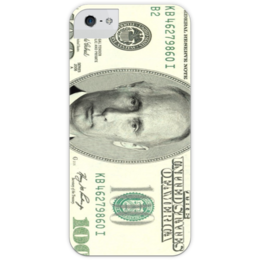 "Чехол для iPhone 5 глянцевый, с полной запечаткой ""Путинсы"" - приколы, путин, putin, путинсы"