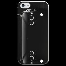 """Чехол для iPhone 5 глянцевый, с полной запечаткой """"BMW e39 Angel eyes"""" - стиль, популярные, мужская, женская, девушке, парню, bmw, выделись из толпы, e39, car"""