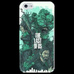"""Чехол для iPhone 5 глянцевый, с полной запечаткой """"Last of Us"""" - the last of us, одни из нас"""