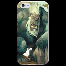 """Чехол для iPhone 5 глянцевый, с полной запечаткой """"Король Мукла"""" - warcraft, blizzard, варкрафт, hearthstone, хартстоун"""