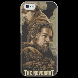 """Чехол для iPhone 5 глянцевый, с полной запечаткой """"The Revenant"""" - фильм, ди каприо, том харди, выживший, the revenant"""
