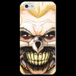 """Чехол для iPhone 5 глянцевый, с полной запечаткой """"Несмертный Джо"""" - mad max, безумный макс, immortan joe, джо"""