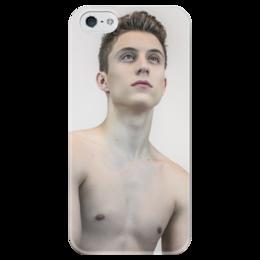 """Чехол для iPhone 5 глянцевый, с полной запечаткой """"Ритм внутри нас"""" - лоик, нотте, ритм, лоик нотте, внутри"""