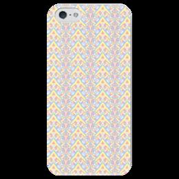 "Чехол для iPhone 5 глянцевый, с полной запечаткой ""ngjjvbn480"" - арт, узор, абстракция, фигуры, текстура"