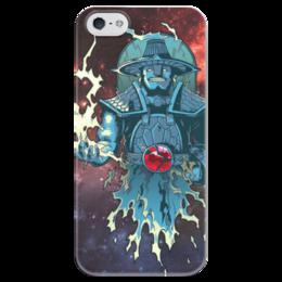 """Чехол для iPhone 5 глянцевый, с полной запечаткой """"Storm Spirit Dota 2"""" - арт, игры, дота 2, dota, dota 2"""