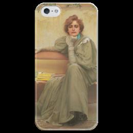"""Чехол для iPhone 5 глянцевый, с полной запечаткой """"Мечты"""" - картина, коркос"""