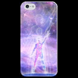 """Чехол для iPhone 5 глянцевый, с полной запечаткой """"Космос в тебе!"""" - космос, наука, thespaceway, space, вселенная"""