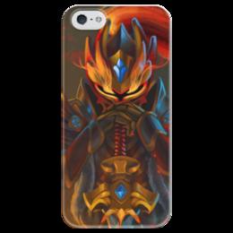 "Чехол для iPhone 5 глянцевый, с полной запечаткой ""Dota 2 Dragon Knight"" - dota 2, дота 2, dragon knight, dota 2 dragon knight, драгон кнайт"