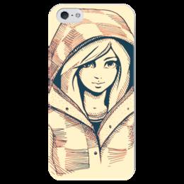 "Чехол для iPhone 5 глянцевый, с полной запечаткой ""арт картинка"" - арт картинка на чехол, на чехол 5 5s"