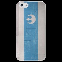 """Чехол для iPhone 5 глянцевый, с полной запечаткой """"Star wars Республика """" - графика, звездные войны, starwars, республика, имерия"""