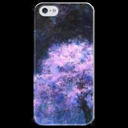 """Чехол для iPhone 5 глянцевый, с полной запечаткой """"Часть Вселенной"""" - космос, наука, thespaceway, space, вселенная"""