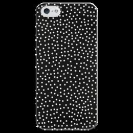 """Чехол для iPhone 5 глянцевый, с полной запечаткой """"Звёздное Небо"""" - небо, природа, звёзды, stars"""