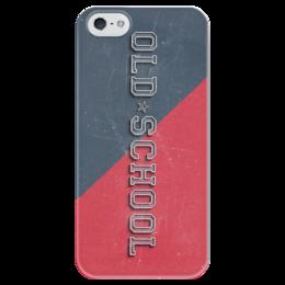 "Чехол для iPhone 5 глянцевый, с полной запечаткой ""Old School Style"" - арт, style, стиль, олд скул, old school"