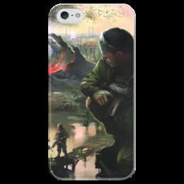 """Чехол для iPhone 5 глянцевый, с полной запечаткой """"S.T.A.L.K.E.R."""" - игры, gamer, сталкер, stalker, игроку"""