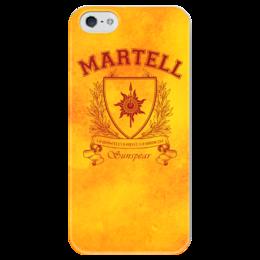 """Чехол для iPhone 5 глянцевый, с полной запечаткой """"Игра Престолов. Дом Мартеллов"""" - игра престолов, game of thrones, дом мартеллов, house martell, мартеллы"""