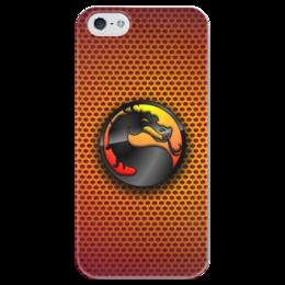 """Чехол для iPhone 5 глянцевый, с полной запечаткой """"Mortal Kombat (Cмертельная битва)"""" - mortal kombat"""