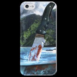 """Чехол для iPhone 5 глянцевый, с полной запечаткой """"Far Cry 3"""" - far cry, far cry 3"""