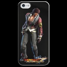 "Чехол для iPhone 5 глянцевый, с полной запечаткой ""Tekken 7"" - tekken, tekken 7"