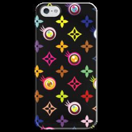 """Чехол для iPhone 5 глянцевый, с полной запечаткой """"Гламур"""" - арт, glamour, узор, fashion, мода"""