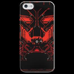 """Чехол для iPhone 5 глянцевый, с полной запечаткой """"Мстители: Эра Альтрона"""" - комиксы, avengers, марвел, альтрон, ultron"""