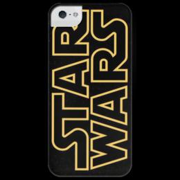 """Чехол для iPhone 5 глянцевый, с полной запечаткой """"STAR WARS"""" - арт, стиль, звездные войны, старварс, star wars, classic, film, sci-fi"""