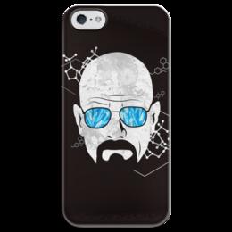 """Чехол для iPhone 5 глянцевый, с полной запечаткой """"Хайзенберг"""" - во все тяжкие, breaking bad, heisenberg, хайзенберг"""