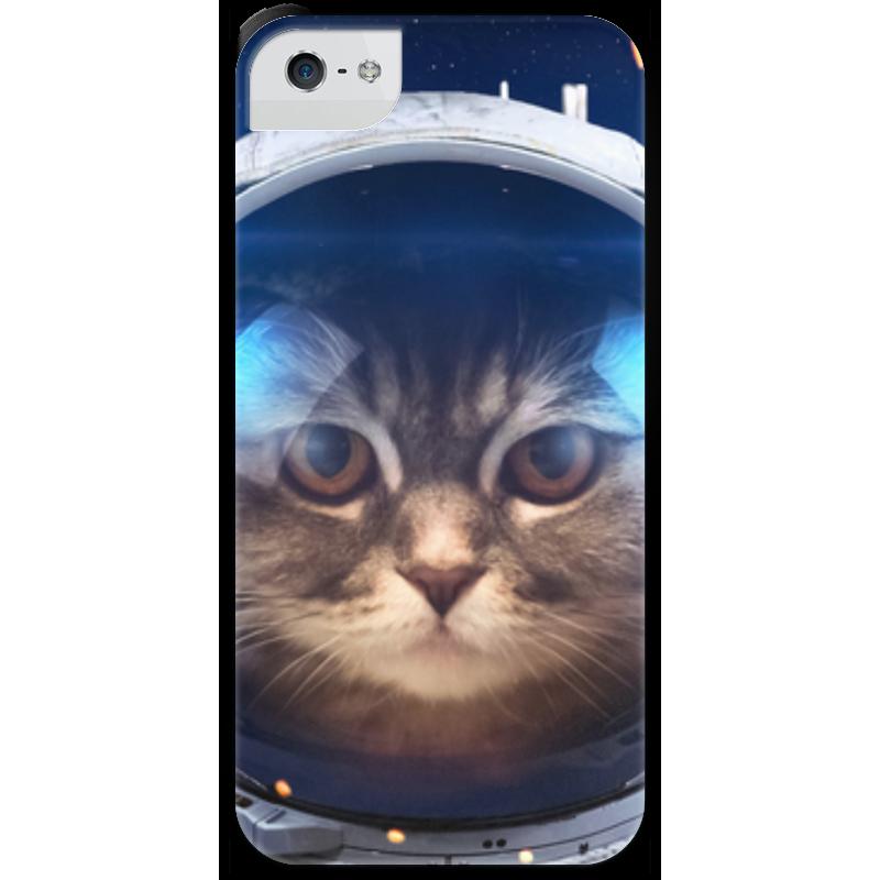Чехол для iPhone 5 с подставкой, с полной запечаткой Printio Котосмонавт чехол для iphone 5 с подставкой с полной запечаткой printio котосмонавт