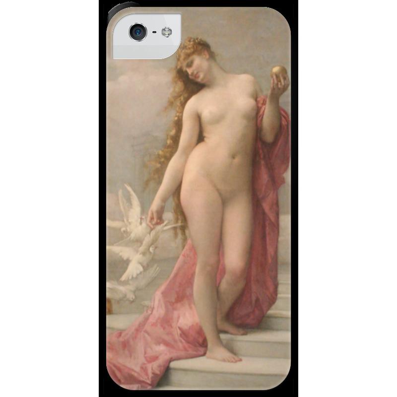 Чехол для iPhone 5 с подставкой, с полной запечаткой Printio Венера (картина кабанеля) чехол для iphone 5 с подставкой с полной запечаткой printio паж картина кабанеля
