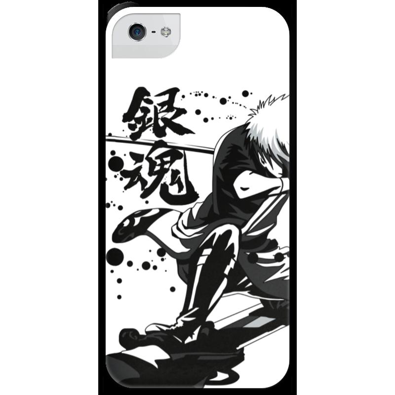 Чехол для iPhone 5 с подставкой, с полной запечаткой Printio Гинтама чехол для iphone 5 с подставкой с полной запечаткой printio война