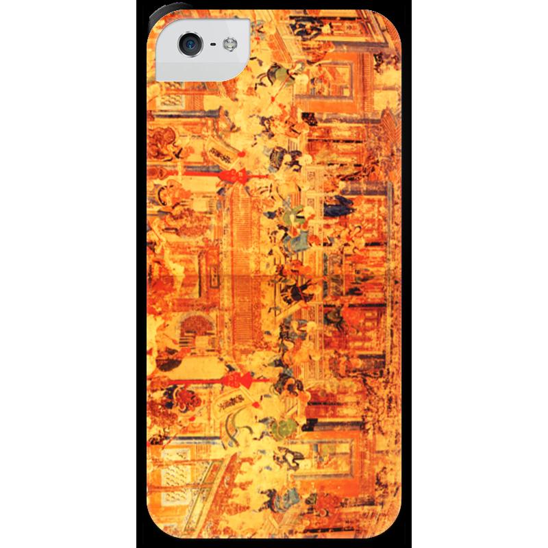 Чехол для iPhone 5 с подставкой, с полной запечаткой Printio Шаолинь оптом из китая копии iphone