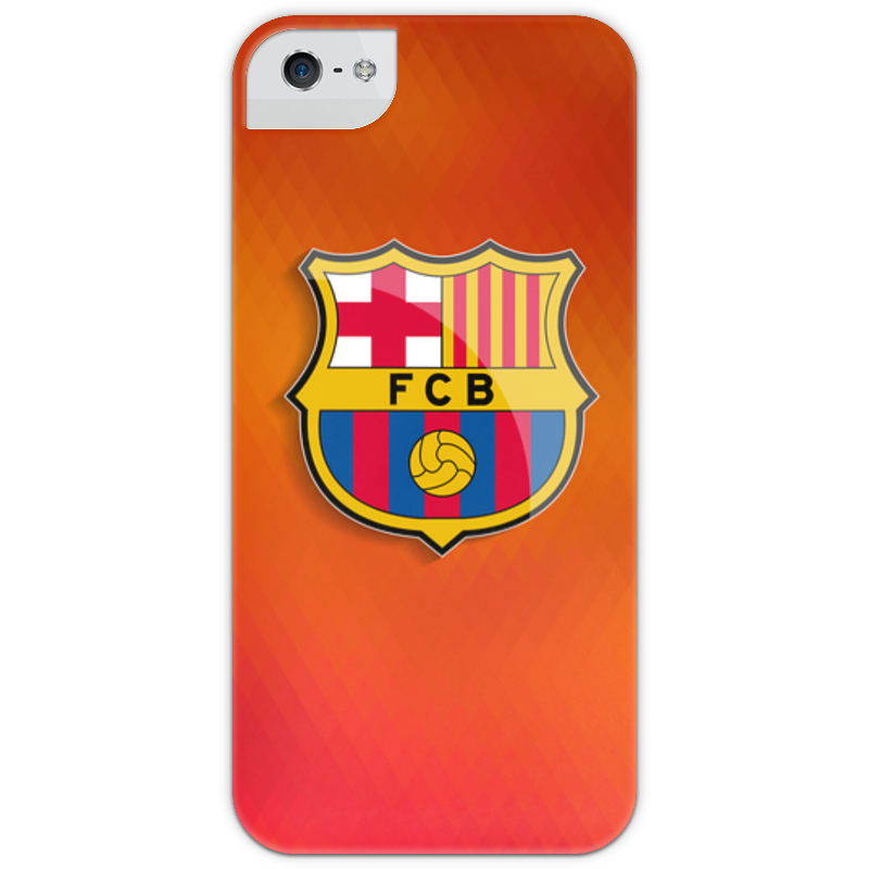 Чехол для iPhone 5 с подставкой, с полной запечаткой Printio Barcelona чехол для iphone 5 с подставкой с полной запечаткой printio интернет