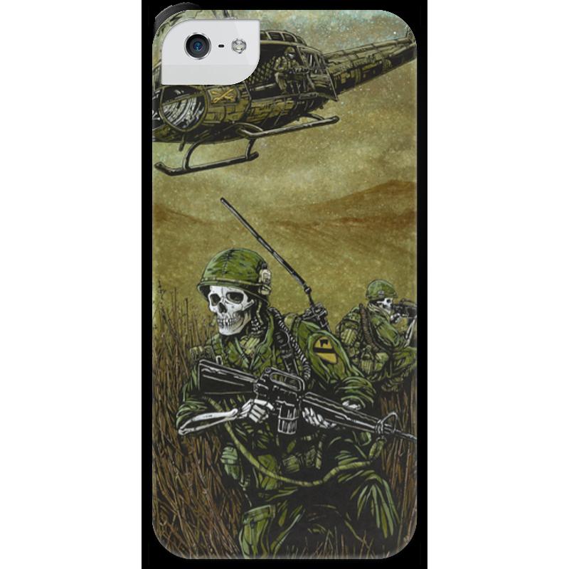 Чехол для iPhone 5 с подставкой, с полной запечаткой Printio Война чехол для iphone 5 с подставкой с полной запечаткой printio война